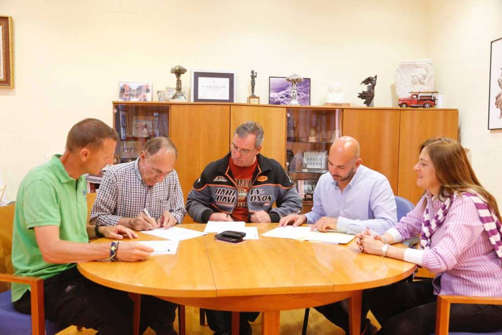 L'Alfàs del Pi firma tres nuevos convenios deportivos