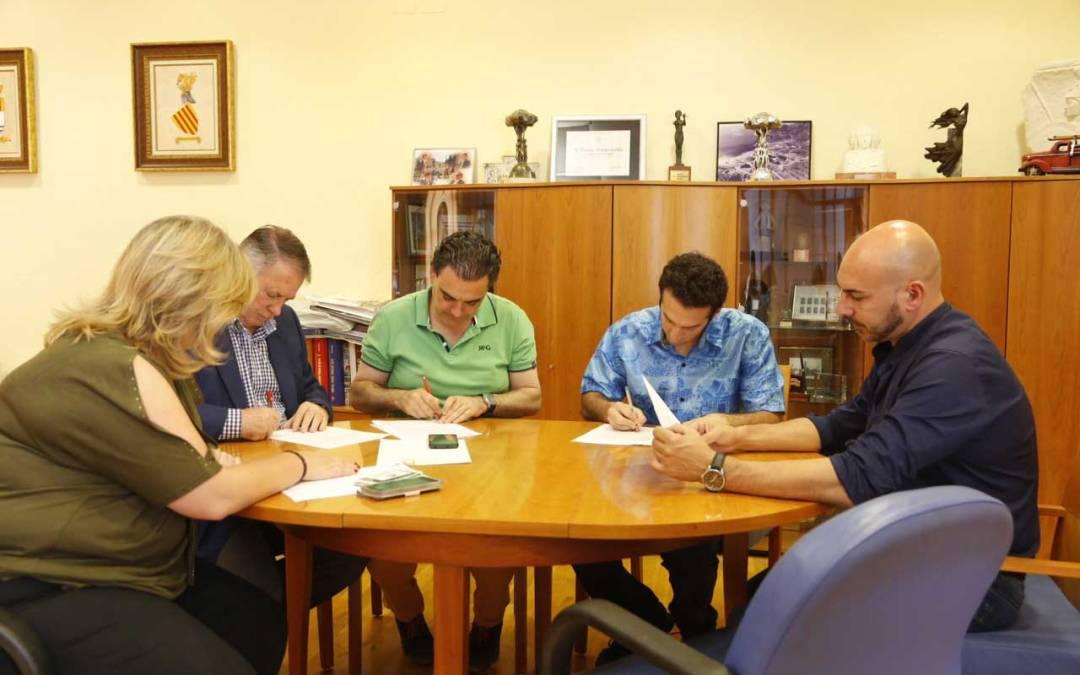 El Ayuntamiento de l'Alfàs y la Asociación Sakura Aikido renuevan el convenio de colaboración