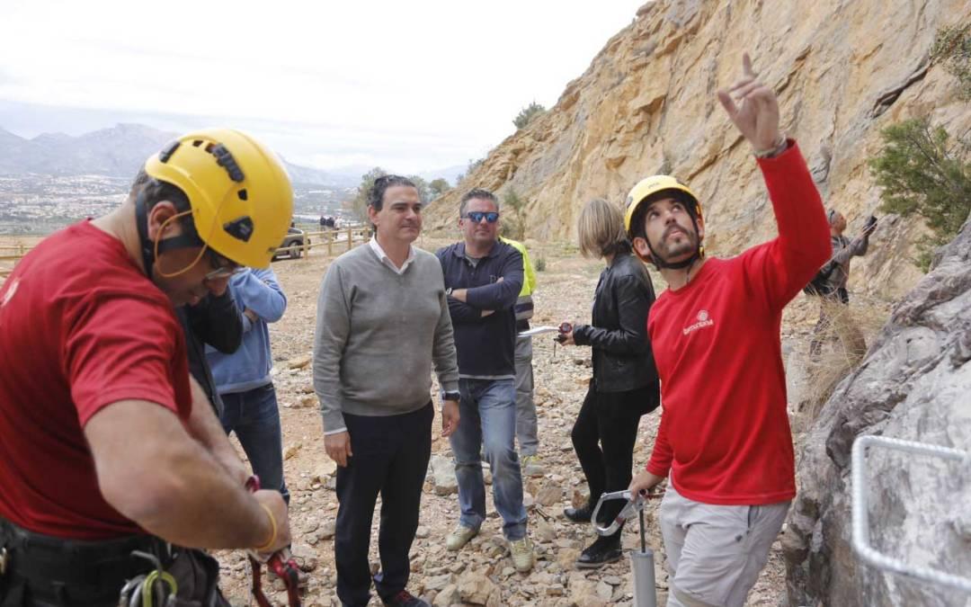 Finaliza la puesta en valor de la cantera de Serra Gelada