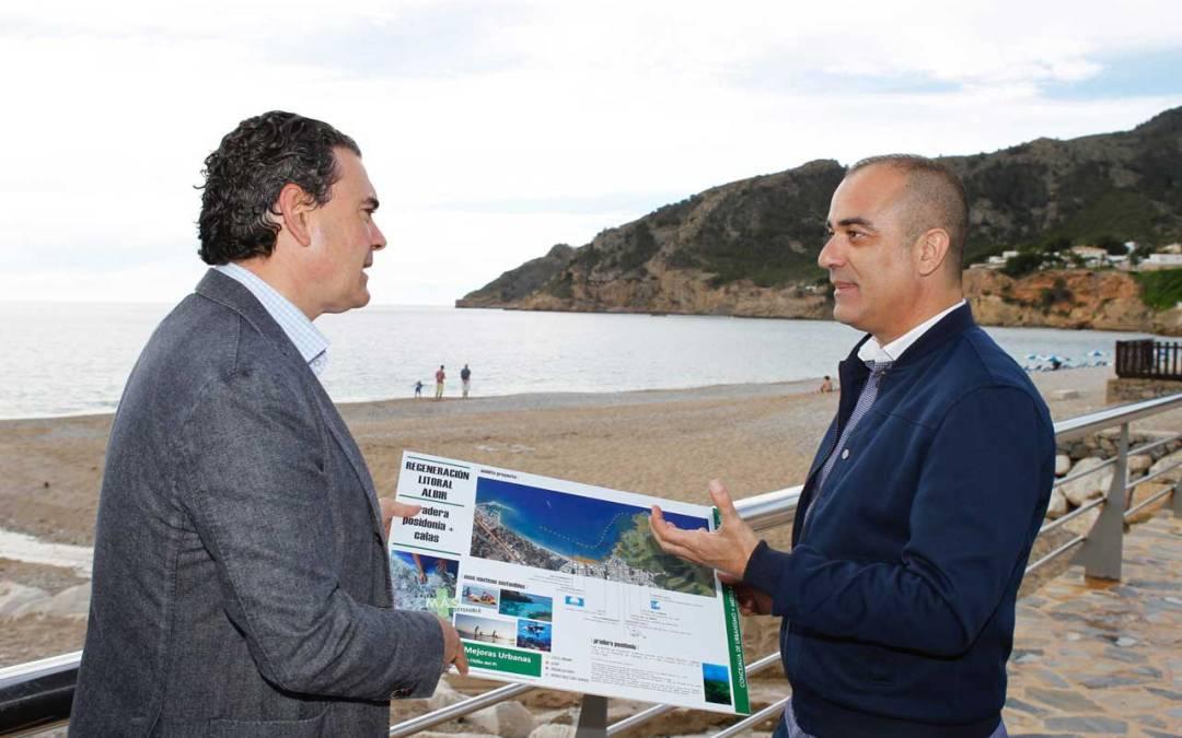 El Ayuntamiento de l'Alfàs construirá un anfiteatro en el mirador de la cala del Metge
