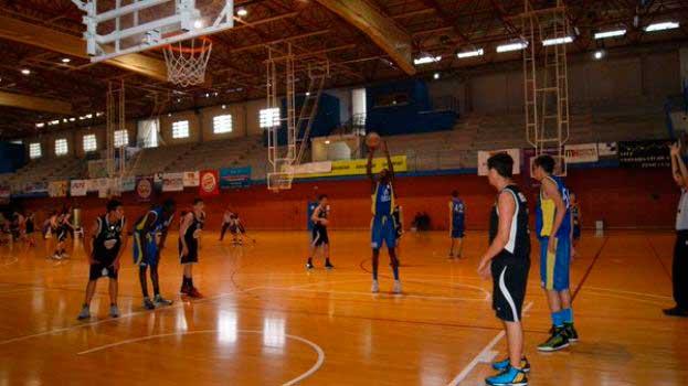 El equipo Cadete  de básket l'Alfàs del Pi  esta en Andorra jugando el  Campeonato de España Cadete .