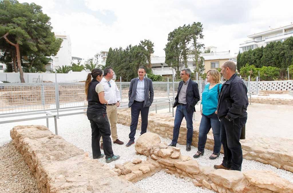 El Museo Villa Romana de l'Albir amplía su zona visitable con una pasarela y la puesta en valor de nuevos restos arqueológicos