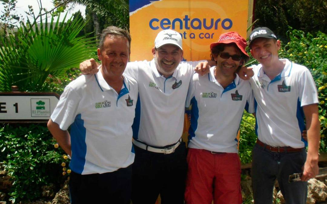 El  equipo del Joven  Club de Golf el Faro del Albir Gana la Copa Levante-Memorial Francisco Gil .
