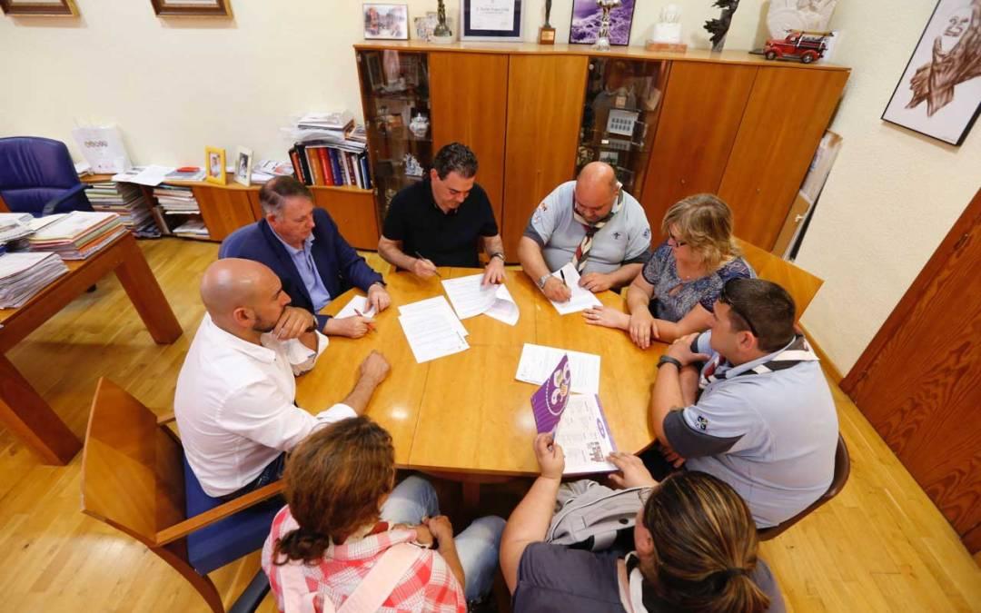 El ayuntamiento de l'Alfàs del Pi renueva su convenio de colaboración con el IV Grupo Scout