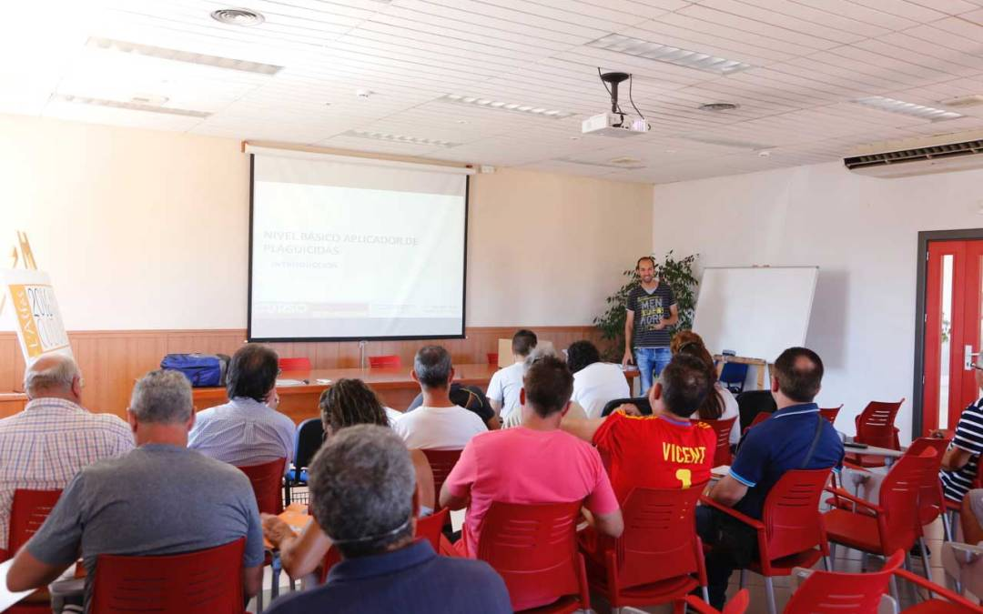 El ayuntamiento de l'Alfàs del Pi organiza un nuevo curso de manipulador de productos fitosanitarios