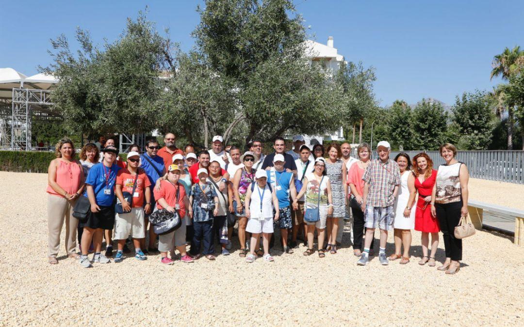 Los alumnos del Doble Amor visitan el Museo Villa Romana de l'Albir