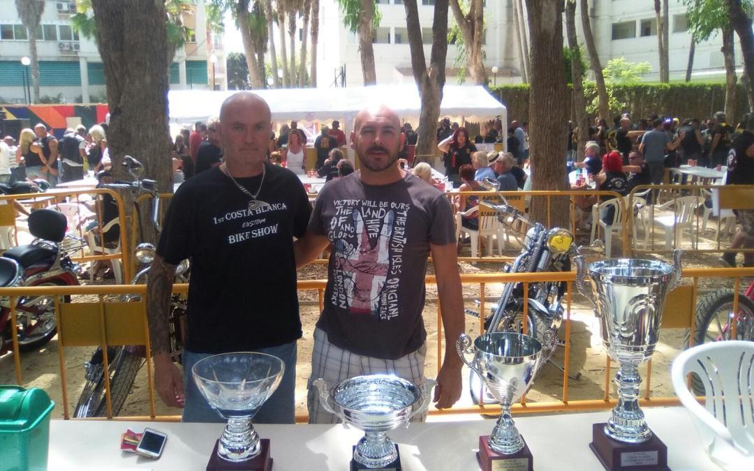 El Costa Blanca Bike Show hizo vibrar l'Albir con la presencia de cerca de 3.000 moteros