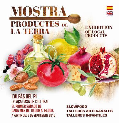 L'Alfàs acoge este sábado una nueva edición de la Mostra de Productes de la Terra