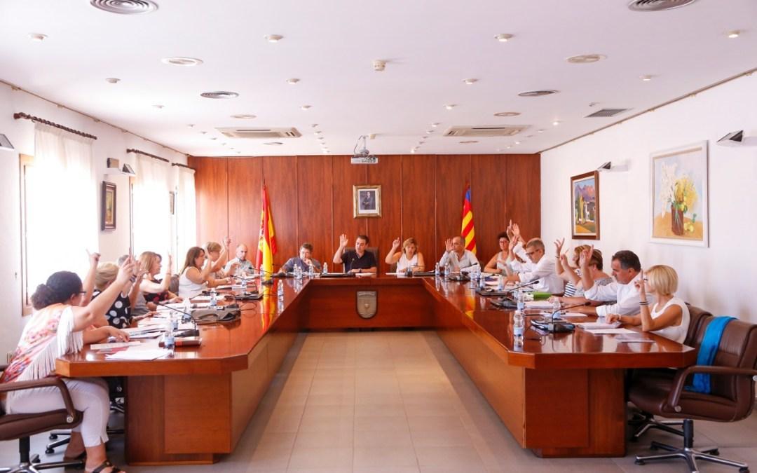 El pleno de l'Alfàs del Pi aprueba por unanimidad el hermanamiento con el municipio burgalés de Covarrubias