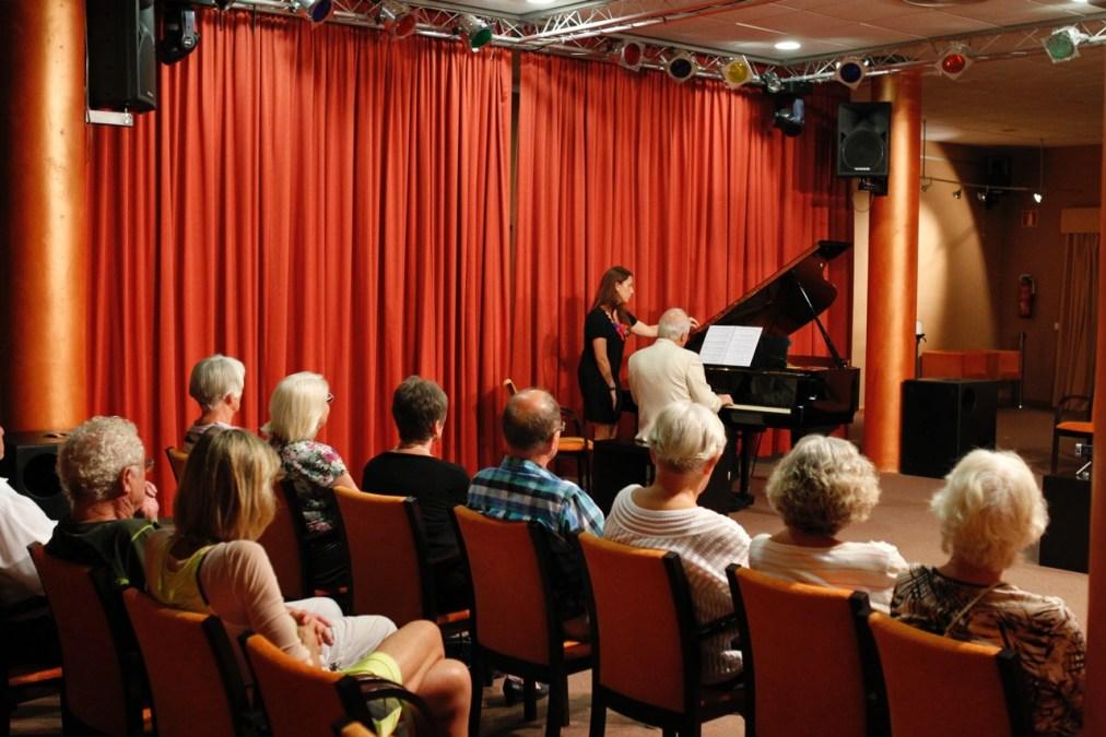 El Forum Mare Nostrum acogió un recital de piano a cargo del concertista canario Guillermo González