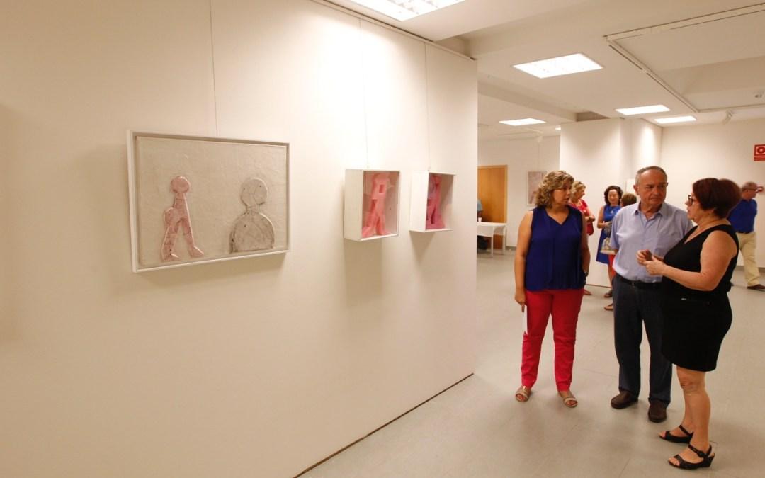 Bienvenida Galera lle va a la Fundación Frax sus geometrías con 'Atrapados II'