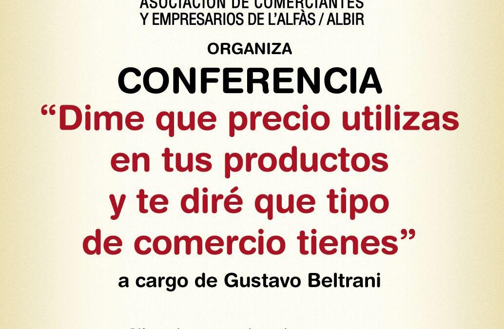 La concejalía de comercio y COEMPA proponen una conferencia enfocada a la política de precios de los negocios locales