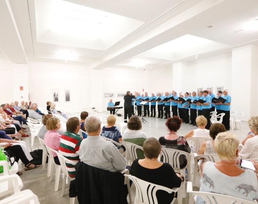 El Coro de voces masculinas de Gales ofrece un recital en la Fundación Frax en beneficio de la AECC
