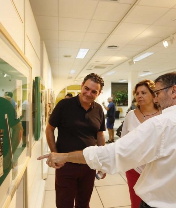 Fernando Bañuls expone 'Expresión verbal' en la Casa de Cultura de l'Alfàs