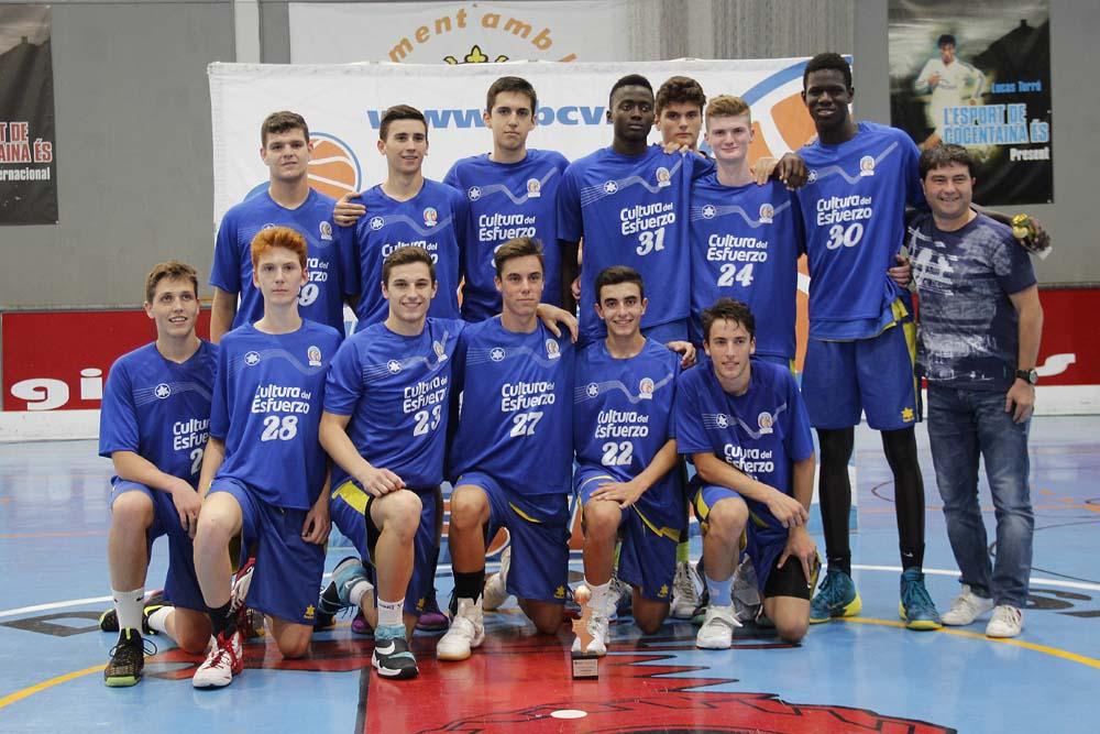 Los  equipos Junior masculino y femenino  del CB Terralfàs  se han proclamado campeón y subcampeón  provincial en las finales de la liga Valenciana 2016.