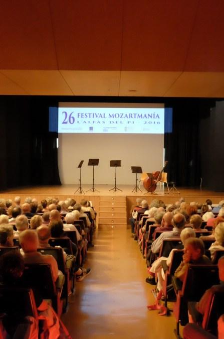 La 26ª edición de Mozartmanía llega a su final este fin de semana de la mano del Wood String Trio y el Quinteto de clarinetes de Altea