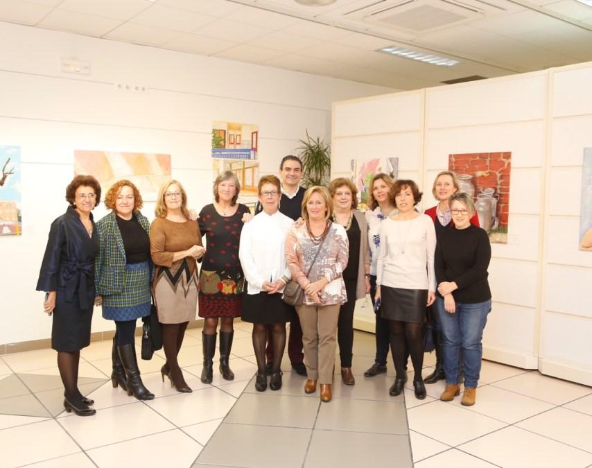 Exposición colectiva de Crearte Albir en la Casa de Cultura de l'Alfàs del Pi