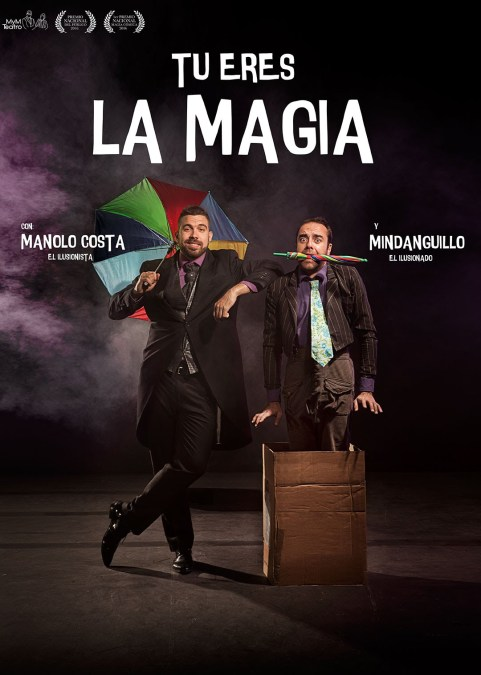 Manolo y Mindanguillo desembarcan mañana en l'Alfàs con su show de magia cómica