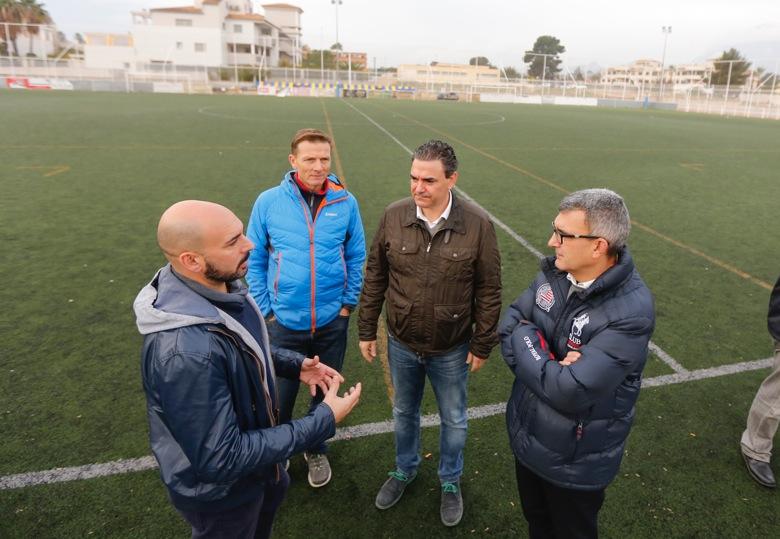 L'Alfàs iniciará en enero la renovación de los vestuarios del campo de fútbol de l'Albir