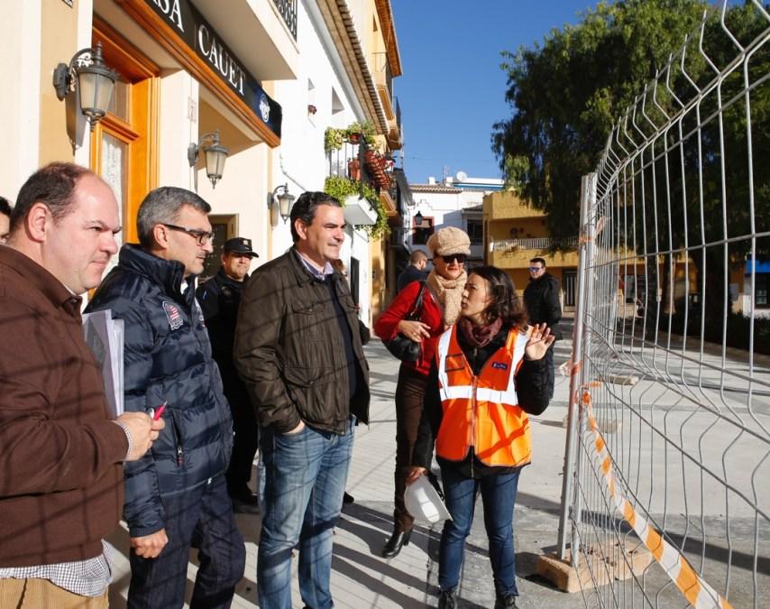 Las obras de la Plaza Jaume I entran en su fase final