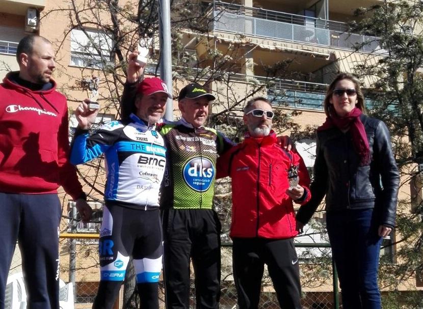 Un alfasino hace podium en la carrera en el primer maratón BTT de la comunidad Valenciana