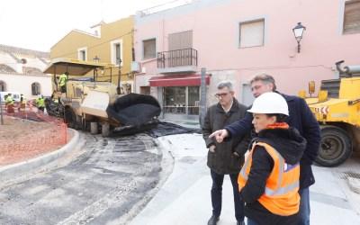 A punto de finalizar las obras de remodelación de la plaça Jaume I