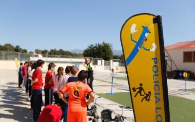 Cerca de un millar de alumnos de l'Alfàs del Pi participan en el programa de educación vial