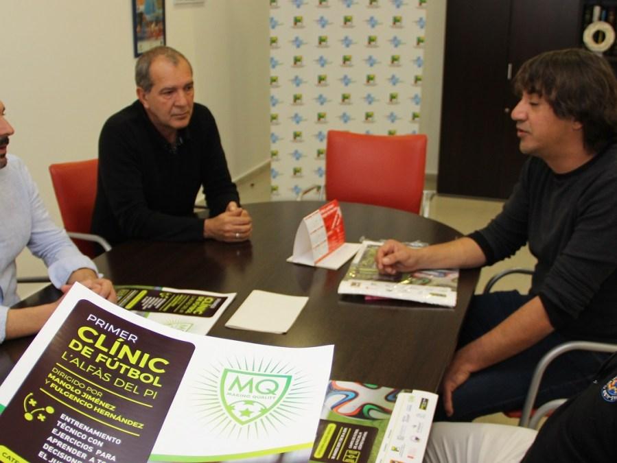 Presentado el primer Clinic de Fútbol para niños de 10 a 13 años.