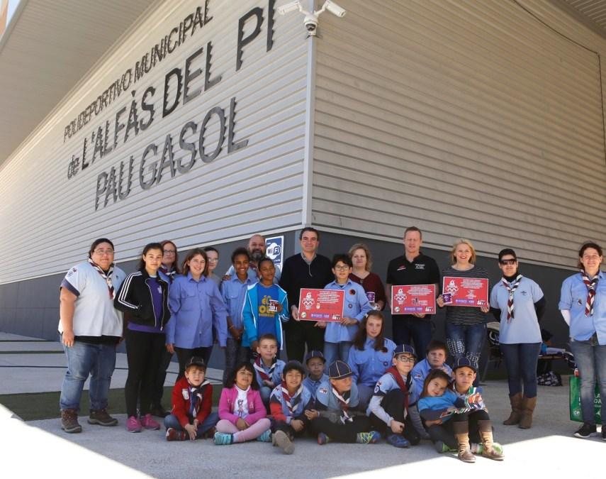 El Grupo Scout IV agradece la colaboración del Ayuntamiento de l'Alfàs en las Olimpiadas Escultas