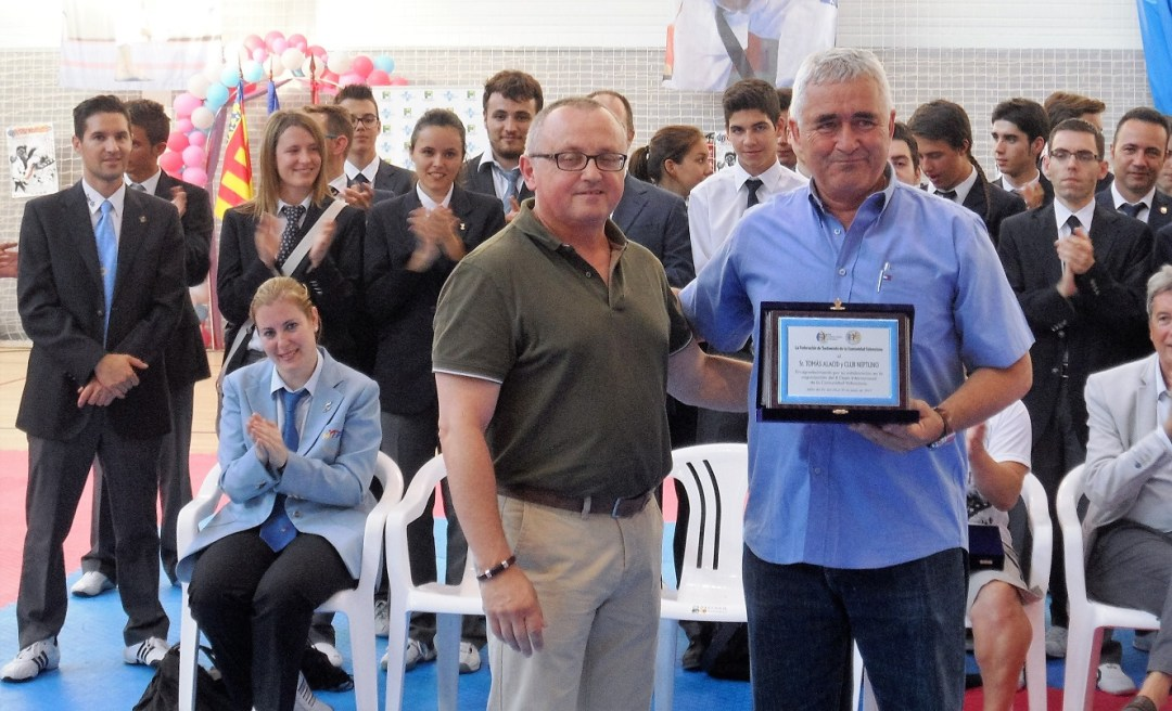Tomas Alacid recibirá esta noche en Cartagena el premio nacional del deporte.