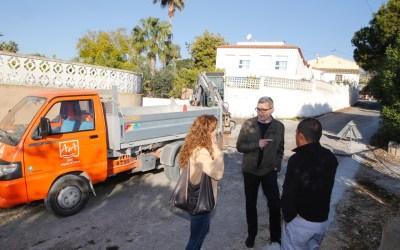 El Ayuntamiento de l'Alfàs inicia los trabajos de asfaltado de las calles Borret y Fuerteventura