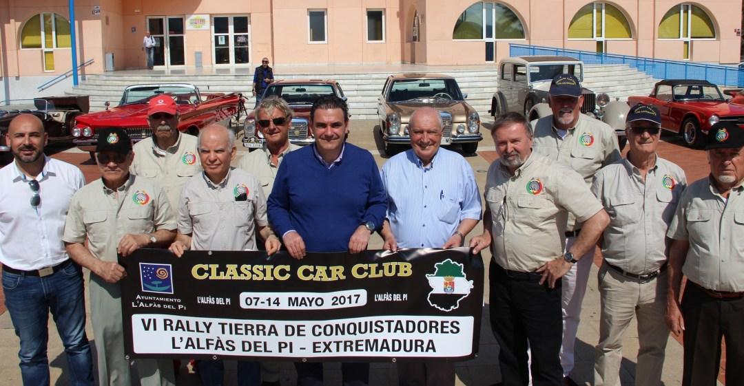 Presentado el  Rally L'Alfàs del Pi – Extremadura  de coches clásicos