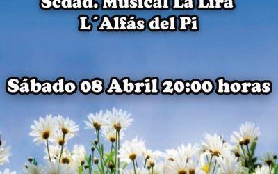 L'Alfàs celebra el cambio de estación con el 'Concierto de Primavera' de  la Sociedad Musical La Lira