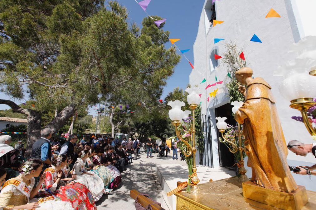 L'Alfàs del Pi, La Nucía y Altea celebran el Día de San Vicent Ferrer en la ermita del Captivador