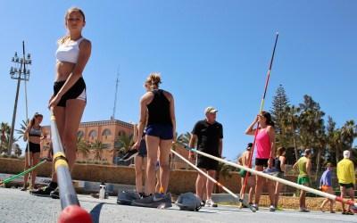 Atletas de todo el mundo se concentran en l'Alfàs del Pi y ultiman su preparación para la próxima temporada.