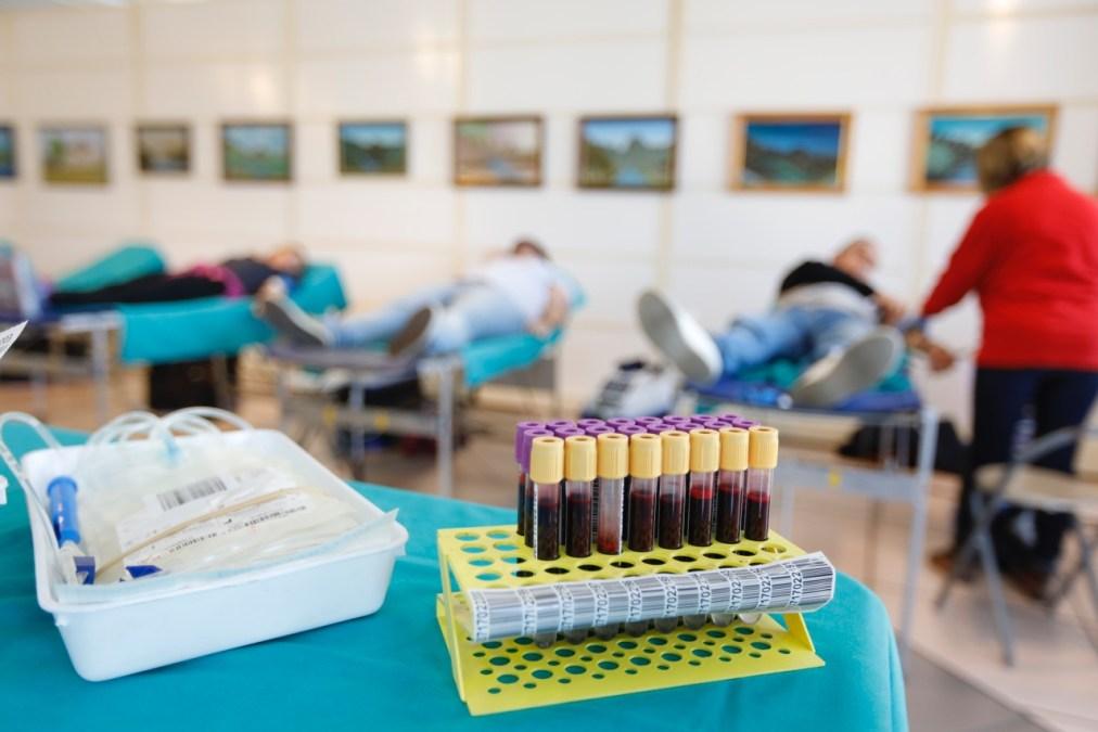 El maratón de donación de sangre y médula de l'Alfàs del Pi se salda con un espectacular aumento de las donaciones