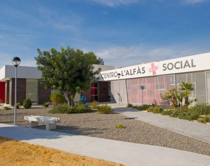 Centro L'Alfàs + Social, en l'Alfàs del Pi