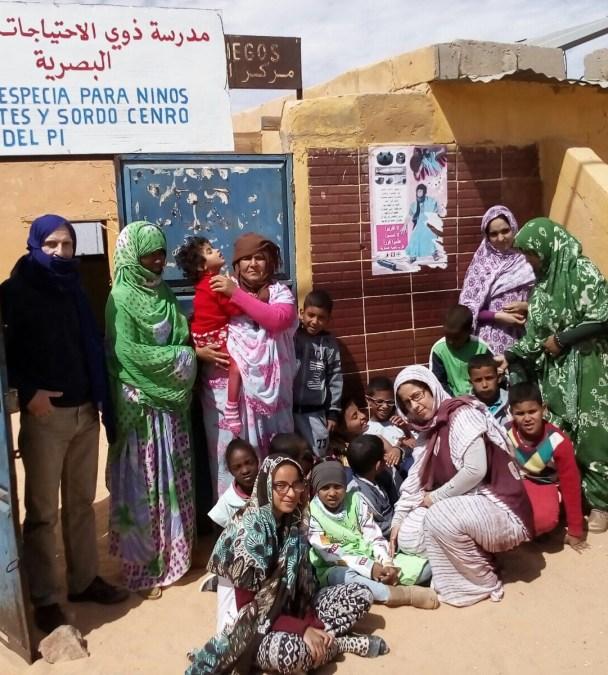 L'Alfàs mantiene su colaboración con la Escuela para Ciegos en el Sáhara