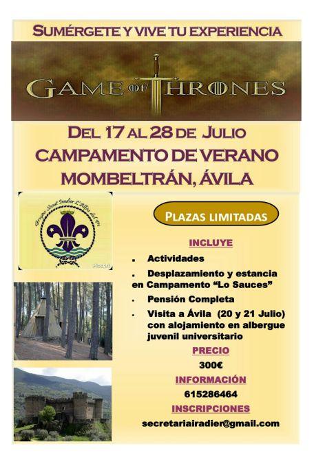 El Grupo Scouts Iradier lanza un campamento de verano a Mombeltrán, en Ávila
