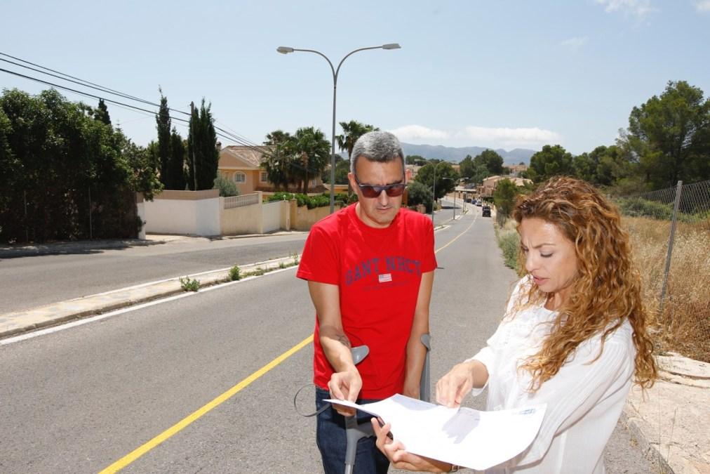 El gobierno de l'Alfàs renueva parte de la red de saneamiento de la urbanización El Cautivador
