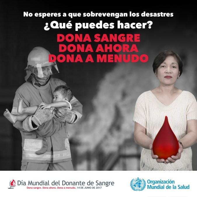 Sanidad agradece la solidaridad de la ciudadanía de l'Alfàs en el Día Mundial del Donante de Sangre