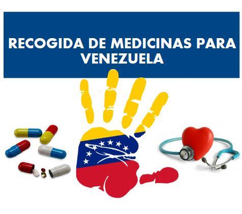 Campaña de recogida de medicinas para Venezuela