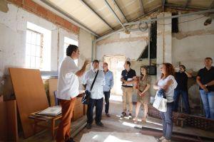 El alcalde de l'Alfàs presenta la rehabilitación del CEA Carabineros