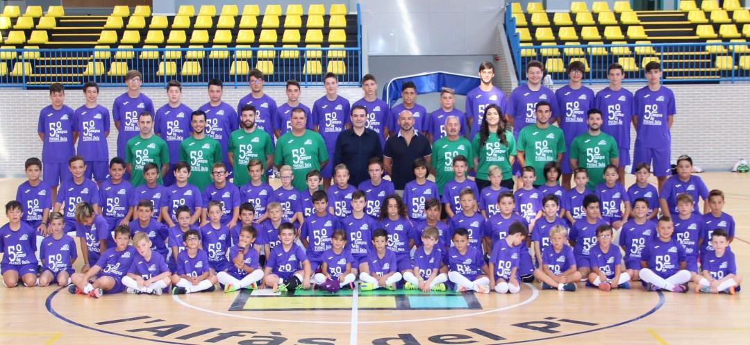 El Quinto campus de Fútbol Sala ya tiene foto oficial.