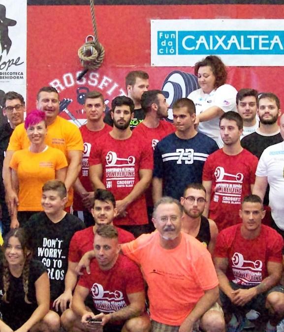 Los alzadores de AFA destacan el Campeonato de España celebrado en San Vicente de Raspeig