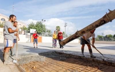 El Ayuntamiento de l'Alfàs aprovecha las vacaciones para realizar obras de mejora en los tres colegios