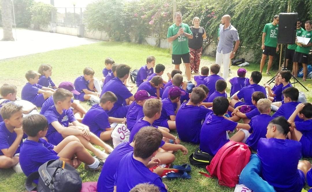 Este fin de semana finalizó el V Campus de Fútbol Sala que organiza el CFS de l'Alfás del Pi que este año contó con un total de 71 niños