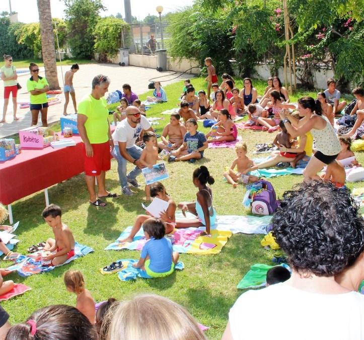 Hoy ha finalizado el primer turno de los cursos de natación de la concejalía de deportes de L'Alfàs del Pi.