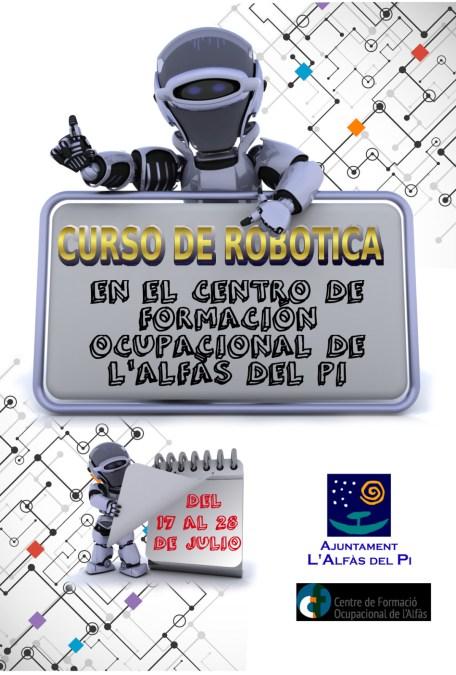 El Ayuntamiento de l'Alfàs lanza un curso de robótica infantil