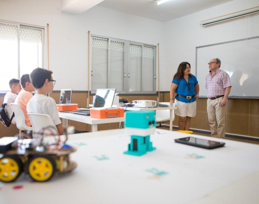 El Ayuntamiento de l'Alfàs del Pi lanzará en octubre un nuevo curso de robótica infantil